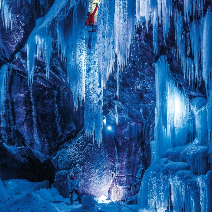 замерзшие водопады фото 2 (700x700, 492Kb)