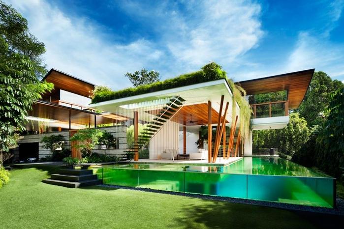красивый дом фото (700x466, 268Kb)