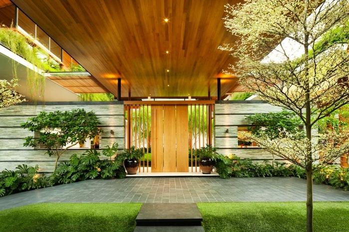 красивый дом фото 2 (700x466, 318Kb)