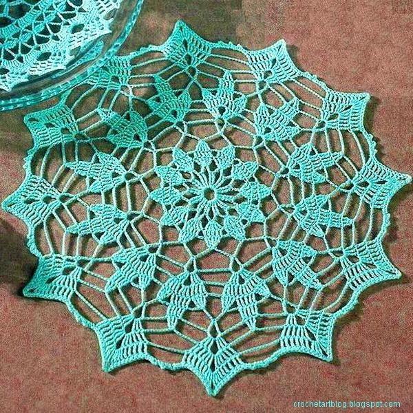 Simple Crochet doily 9 (600x600, 379Kb)