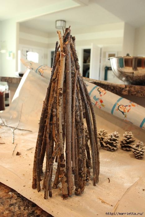 Веточки деревьев для рождественского декора (16) (466x700, 277Kb)