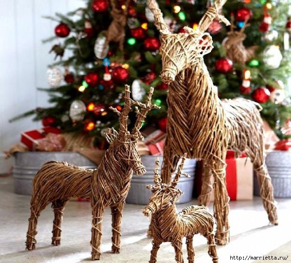 Веточки деревьев для рождественского декора (42) (600x541, 244Kb)