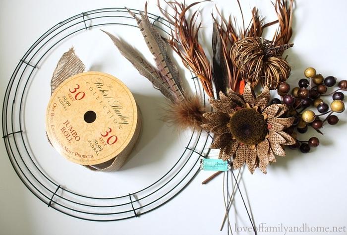 Венки для украшения интерьера. Осенне-зимние варианты (10) (700x474, 263Kb)