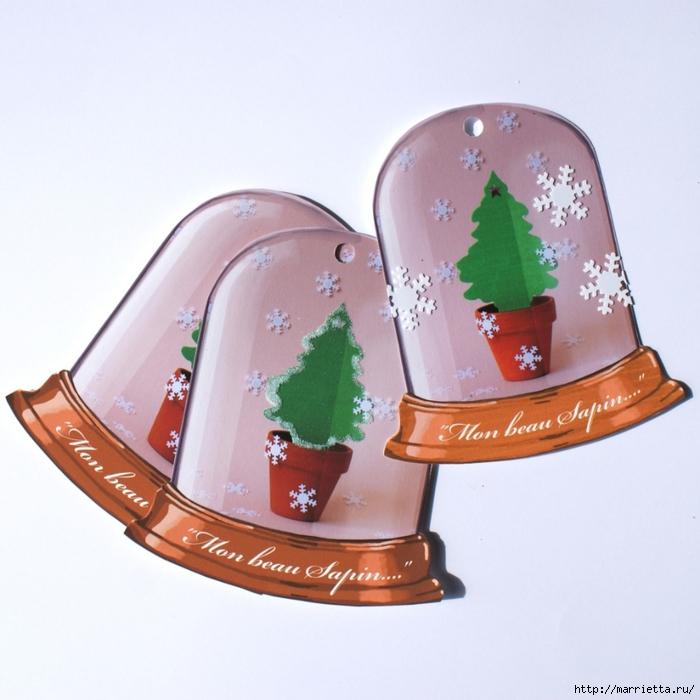 Новогодние шаблоны для распечатки. Тэги, фонари, снежинки, подсвечники (3) (700x700, 260Kb)