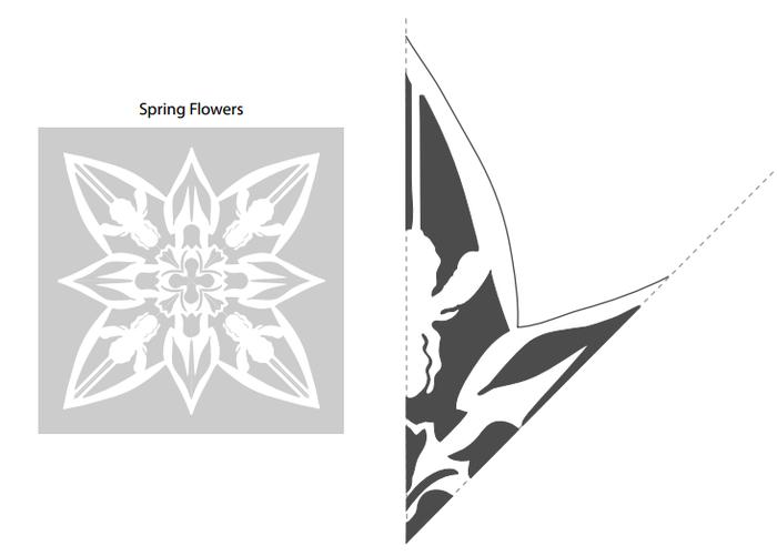 Новогодние шаблоны для распечатки. Тэги, фонари, снежинки, подсвечники (5) (700x501, 72Kb)