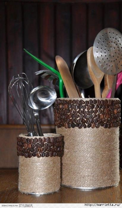Цветочные вазочки из железных банок. Декорирование шпагатом (1) (411x699, 226Kb)