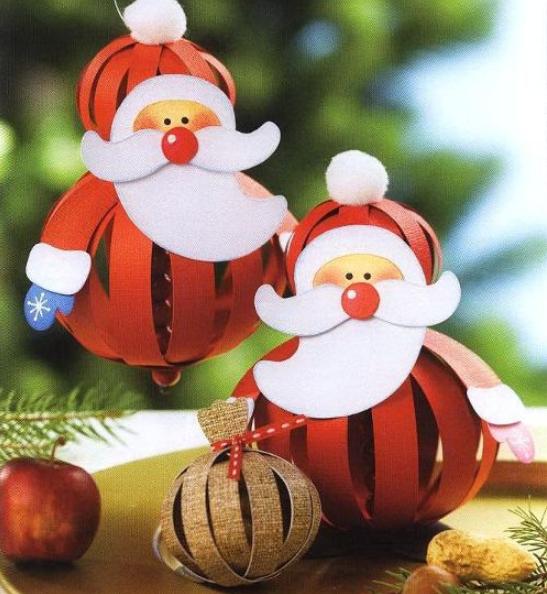 Мягкие новогодние игрушки из фетра