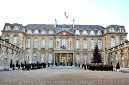 Елисейский дворец Париж (420x277, 98Kb)