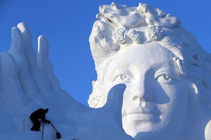 ледяные скульптуры харбина фото 5 (700x466, 260Kb)
