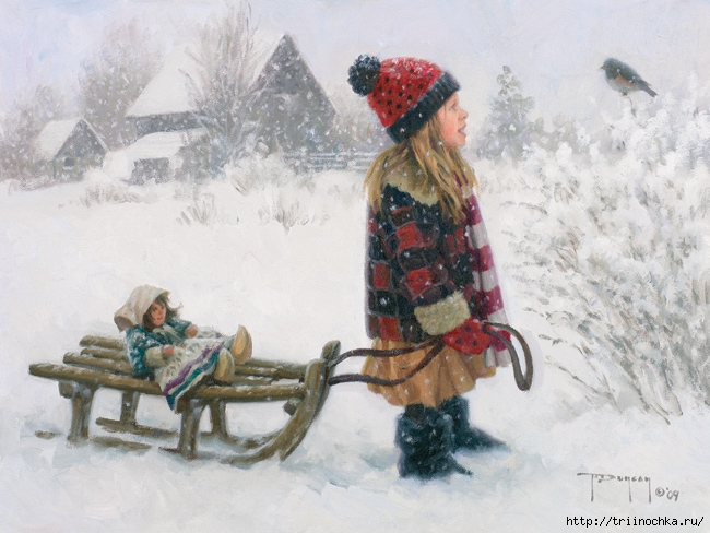 У Зимы забав немало, научись ценить их!