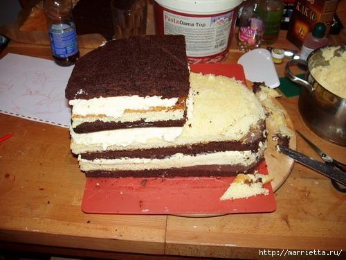 Марципановые торты. Лошади (1) (500x375, 111Kb)