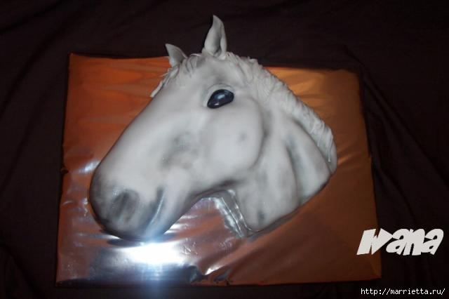 Марципановые торты. Лошади (25) (640x426, 78Kb)