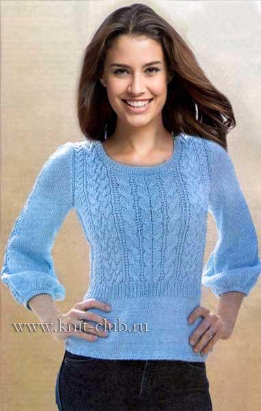 5054806_vjazanie_spicami_zhenskij_pulover (382x600, 28Kb)