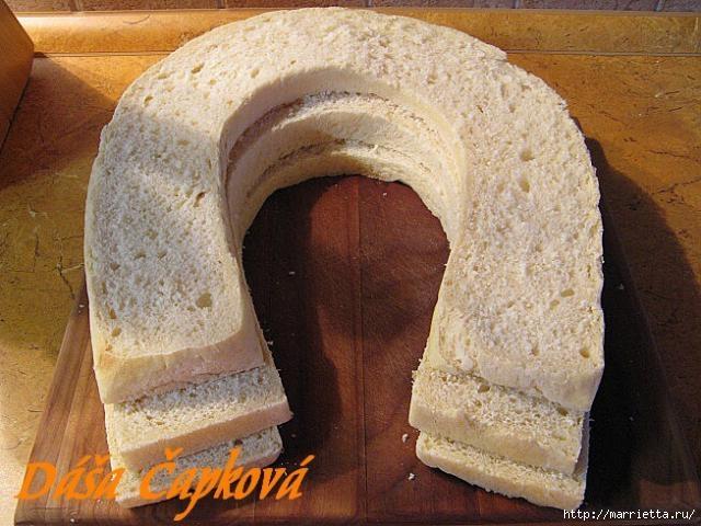 Pastel salado de Navidad.  Herradura (31) (640x480, 182Kb)