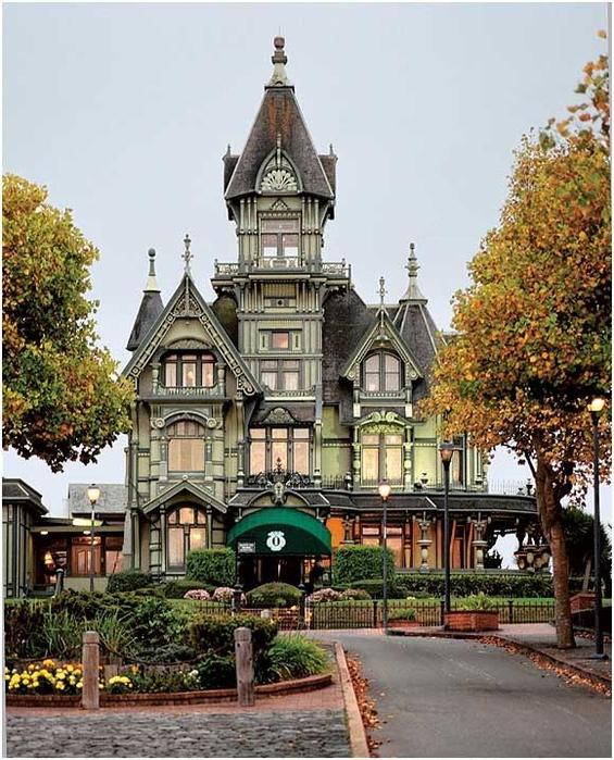 The Carson Mansion – Eureka, CA (565x700, 451Kb)