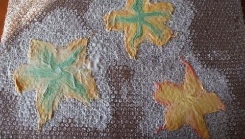 Цветы в технике мокрого валяния из шерсти. Фото мастер-класс (9) (480x272, 137Kb)