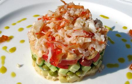 Салат крабовый вкусный рецепт