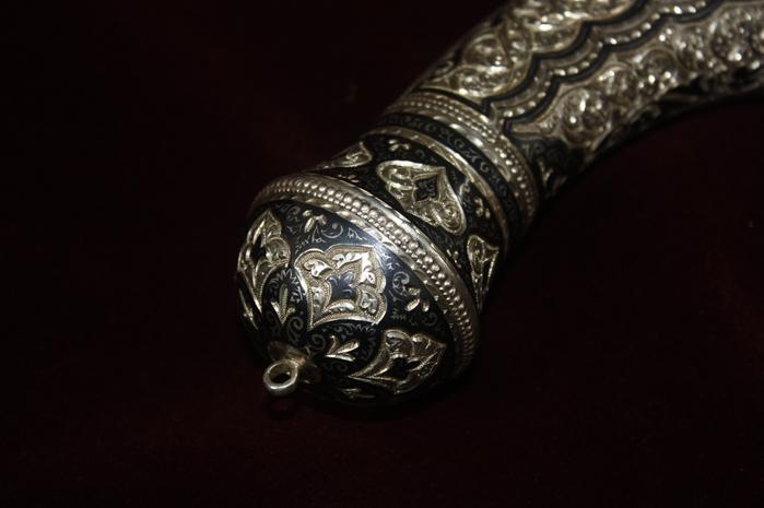 кубачинское серебро браслет