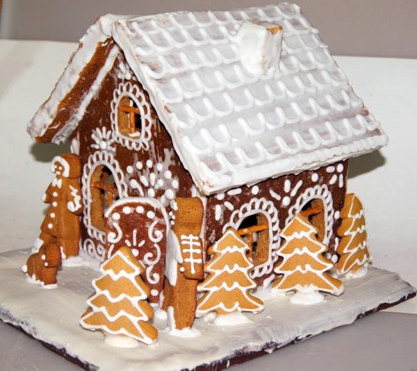 Как сделать пряничный домик в домашних условиях с фото