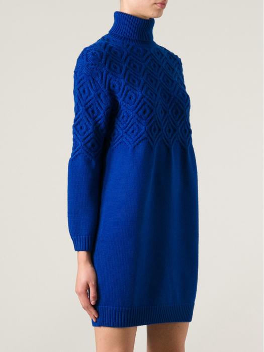 蓝色连衣裙 - maomao - 我随心动