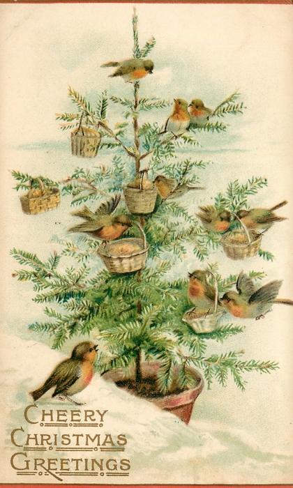 Винтажные картинки и идеи для создания подвесок, тэгов и рождественских гирлянд (1) (420x700, 264Kb)