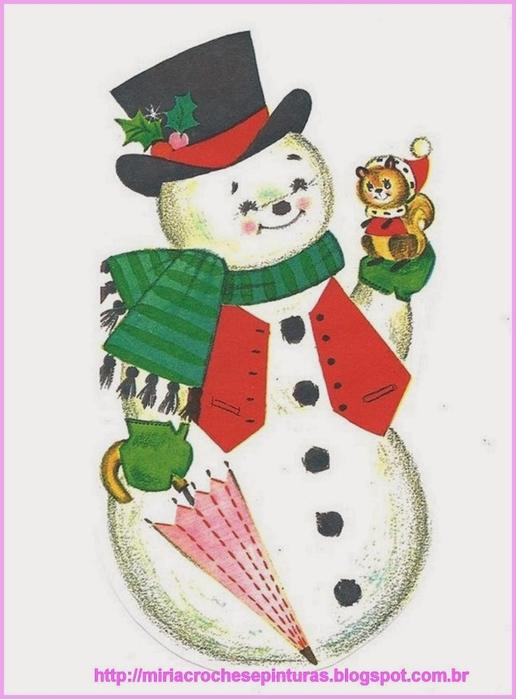 Винтажные картинки и идеи для создания подвесок, тэгов и рождественских гирлянд (4) (516x700, 177Kb)