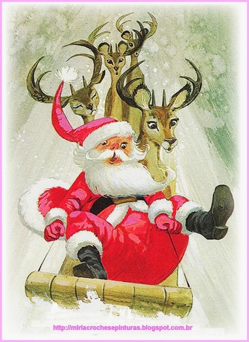 Винтажные картинки и идеи для создания подвесок, тэгов и рождественских гирлянд (28) (510x700, 304Kb)
