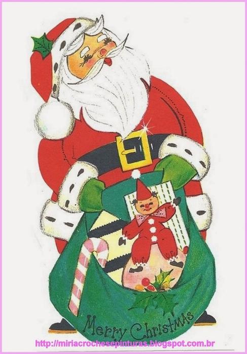 Винтажные картинки и идеи для создания подвесок, тэгов и рождественских гирлянд (40) (487x700, 200Kb)