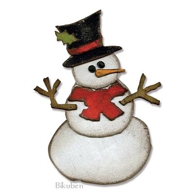 новогодний тэг со снеговиком (2) (400x400, 70Kb)