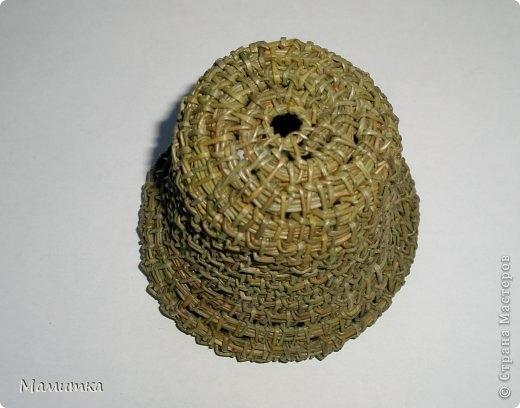 Плетение из сосновых иголок от Мамитка. КОЛОКОЛЬЧИКИ (14) (520x408, 96Kb)
