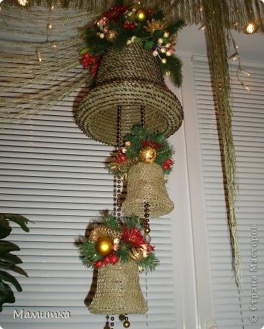 Плетение из сосновых иголок от Мамитка. КОЛОКОЛЬЧИКИ (18) (385x480, 129Kb)