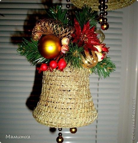 Плетение из сосновых иголок от Мамитка. КОЛОКОЛЬЧИКИ (20) (462x480, 157Kb)