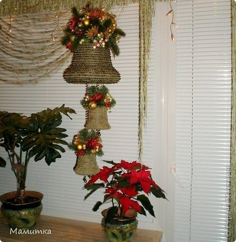 Плетение из сосновых иголок от Мамитка. КОЛОКОЛЬЧИКИ (22) (467x480, 142Kb)