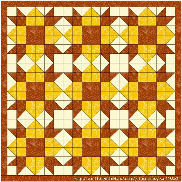 Weathervane Quilt01 (600x599, 378Kb)