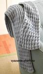 Связанный спицами мужской шарф всегда можно отличить от шарфа, сделанного в промышленных условиях где-то в Китае. .