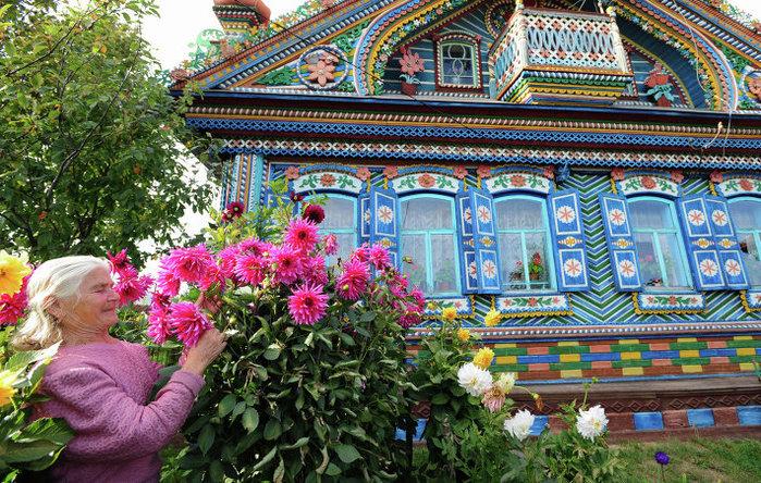 10-Деревянный дом кузнеца Сергея Кириллова (700x444, 192Kb)