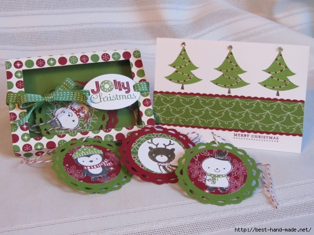 Christmas Tag Box and Coordinating Note Card (640x480, 277Kb)