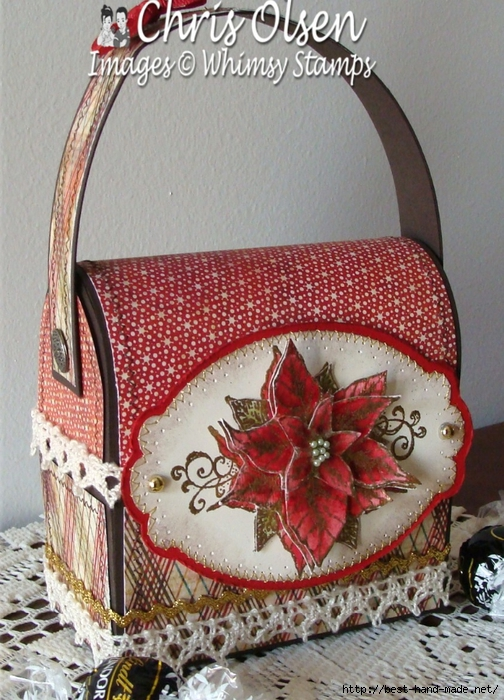 Vintage Poinsettia lunch box.jpg 1 (504x700, 337Kb)