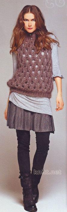 korichnevyj-pulover-ot-helena-hammer (223x700, 42Kb)