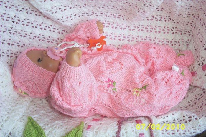 Вяжем для новорожденных своими руками фото