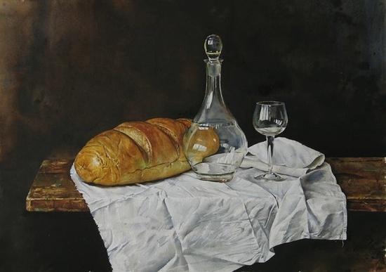 Мастер класс по живописи акварелью натюрморт
