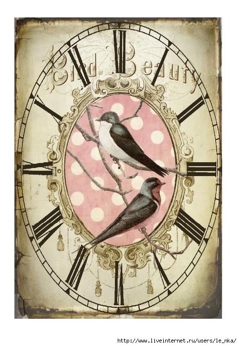 часы+птицы (483x700, 254Kb)