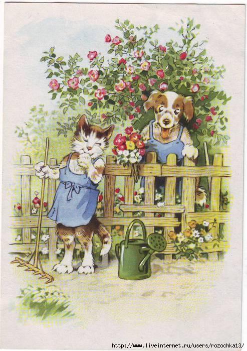 открытки семейные: