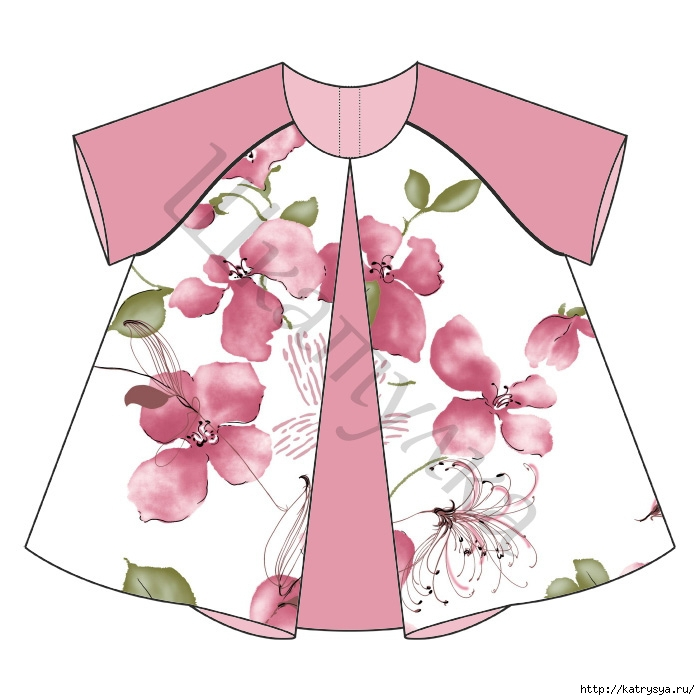 выкройки детской одежды от 1 до 2