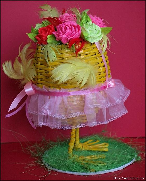 Пасхальные яйца из газетных трубочек. Идеи и мастер-класс (50) (562x700, 340Kb)