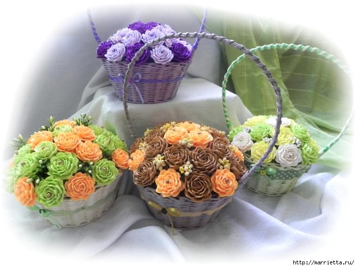цветы из гофрированной бумаги (1) (700x525, 243Kb)