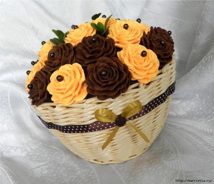цветы из гофрированной бумаги (13) (700x600, 257Kb)