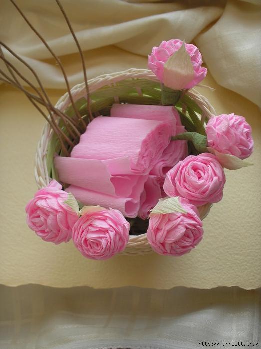 цветы из гофрированной бумаги (17) (523x700, 247Kb)