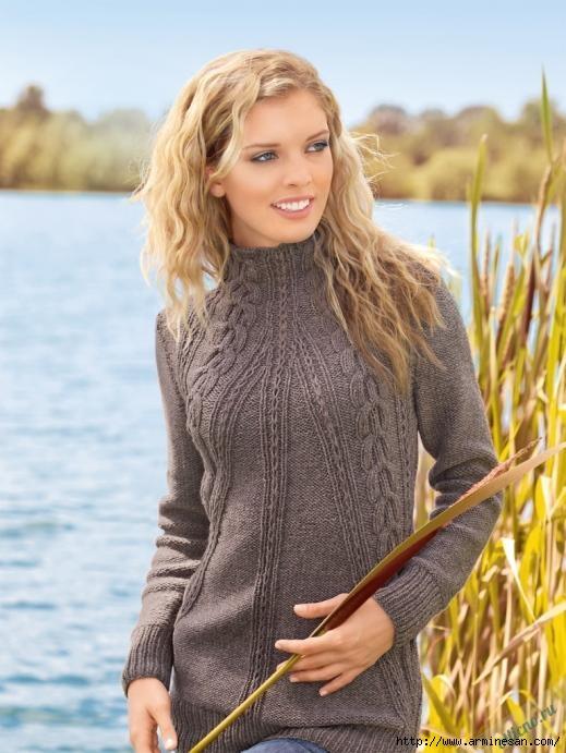 dlinnyj-pulover-spicami-1 (519x691, 186Kb)
