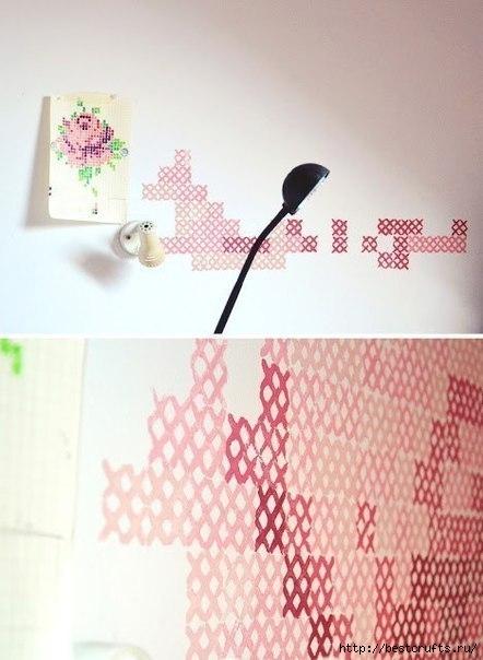 Вышивка на стене (4) (442x604, 127Kb)